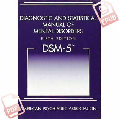 Diagnostic and Statistical Manual of Mental Disorders DSM-5 5th Edition