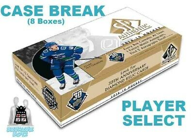 CONNOR McDAVID 2018-19 Upper Deck SP AUTHENTIC 8 Box Case Break Edmonton Oilers