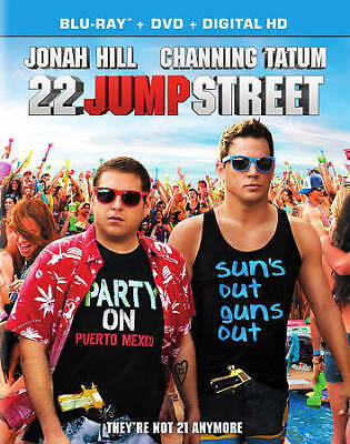 22 Jump Street (Blu-ray/DVD, 2014, 2-Disc Set, Includes Digital Copy UltraViolet