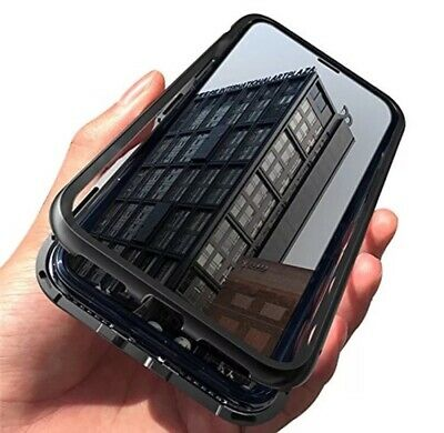 New Luxury Magnetic Adsorption Slim Shockproof Clear Back Case Cover For iPhone8