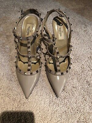 eefa02b444 Valentino lace pointed toe pumps, Size EUR 36, Black.
