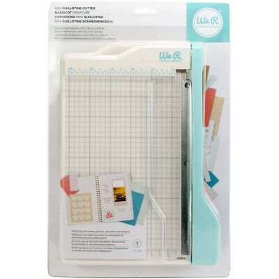 We R Memory Keepers Mini Guillotine Paper Cutter-