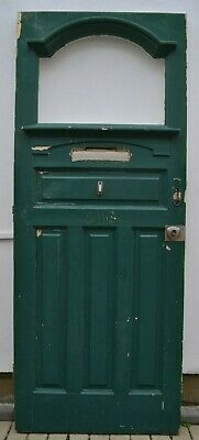 1920/30s English (potentially stained glass) front door. R910. Delivery option.