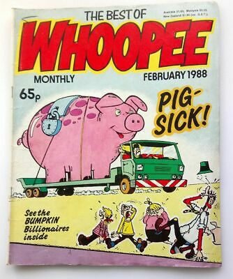 The Best of Whoopee Monthly February 1988 Collectable Childrens Kids Comic