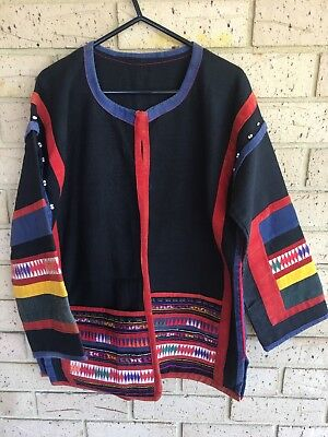 Authentic Vintage Handmade Mexican Jacket.