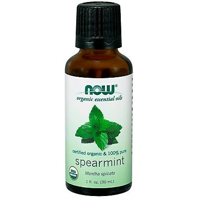 Now Foods Organic Essential Oils Spearmint 1 fl oz 30 ml Organic