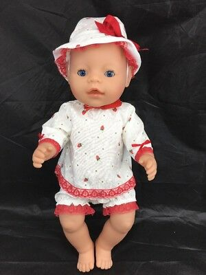 Zapf Creations Doll New Summer Outfit *Blink* Sleep Eyes* Wetting*Drinking. 2006