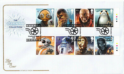 (30061) CLEARANCE GB Cotswold FDC Star Wars Pinewood Road Iver 2017