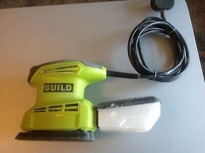 For Auction Used Guild Detail Electric Sander 135W With Dust Port / Dust Box