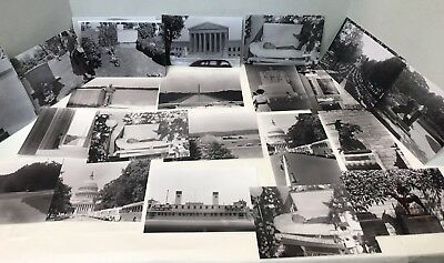 Lot Of 32 Vintage Photos 1940's/1950's In Washington, DC With Negatives
