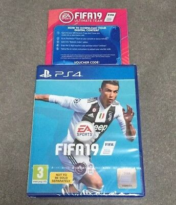 Fifa 19 + Ultimate team - PS4 - Brand New & Sealed - PlayStation 4