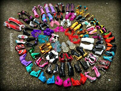 Monster High Accessories.  Shoes and Boots