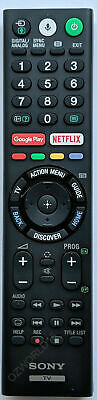 SONY GENUINE 4K HDR Android TV REMOTE RMF-TX201A RMF-TX200A RMFTX200A RMFTX201A