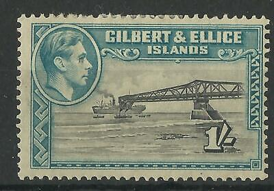 Gilbert And Ellice Islands Kgv1 1939-55 1/- Perf 13 1/2 Mint