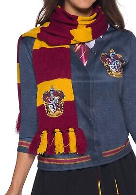 Harry Potter Gryffindor House Knit Scarf Wrap - Officially Licensed