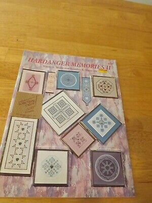 Meier Watnemo Hardanger Memories Book II Embroidery Patterns 32 pages 1992