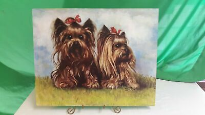 Dogs with Bows Artwork