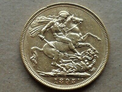 1895 QUEEN VICTORIA VII FULL GOLD SOVEREIGN, from private collection