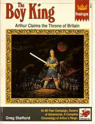 Chaosium Pendragon Boy King, The (1st Edition) SC VG