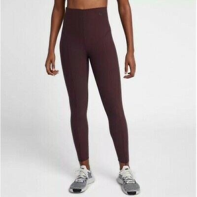 113558a5668b1 Nike Power Sculpt Lux Women's Training Tights Burgundy Crush (938066-652)  Medium