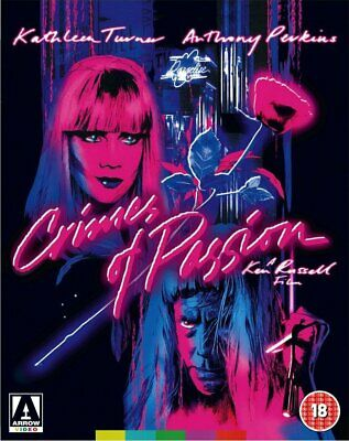 Crimes of Passion - Arrow Blu-ray Ken Russell Kathleen Turner Anthony Perkins