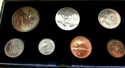 South Africa coins set 1966 with silver rand