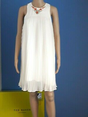 b9ff297aeedd Ted Baker Arleen White Embellished Occasion Dress Uk 8 Ted 1 Usa 4 Bnwt Rrp  £