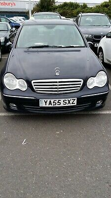 Clean Mercedes C200 Cdi Elegance 55.Reg,Manual,88K,Fsh,Leather,Alloys,G Conditin
