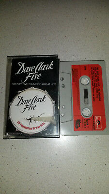 dave clark five 25 thumping great hits music cassette