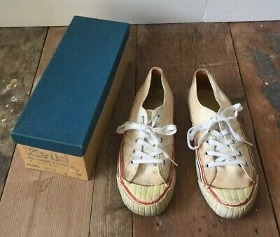 VTG Original Rare Pro Keds Lo Top Canvas Shoes Sneaker With Box Oxford UK5 US6