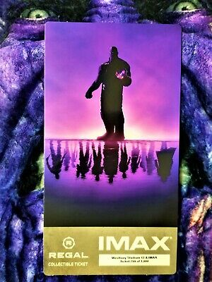 Avengers Endgame Week 1 IMAX Regal Collectible Ticket ! 799 Out Of 1,000 !