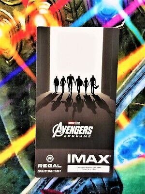 Avengers Endgame Week 2 IMAX Regal Collectible Ticket #18 Out Of 1,000 !