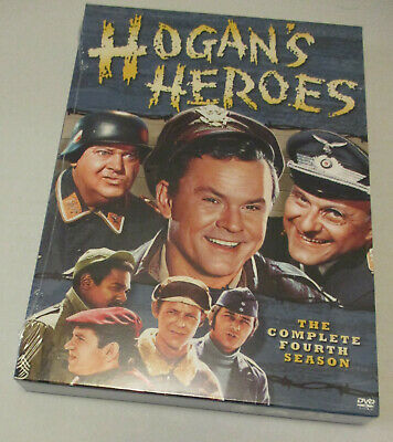 Hogans Heroes - The Complete Fourth Season (DVD, 2006, 4-Disc Set) NEW SEALED