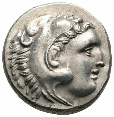 Koc Greek Coins.KINGS OF THRACE. Lysimachos (305-281 BC). Drachm.16mm.4,38g.