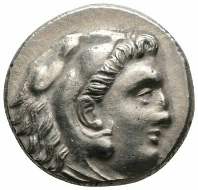 Koc Greek Coins.KINGS OF THRACE. Lysimachos (305-281 BC). Drachm.17mm.4,39g.