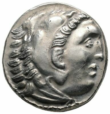 Koc Greek Coins.KINGS OF THRACE. Lysimachos (305-281 BC). Drachm.16mm.4,39g.
