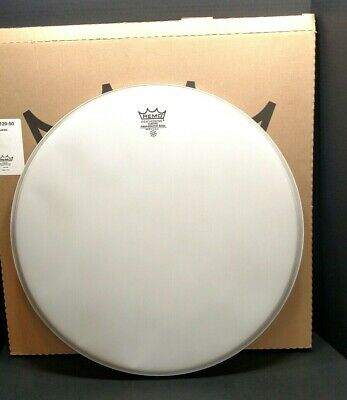 "Remo 20"" White Coated Ambassador Drum Head NEW BSh"