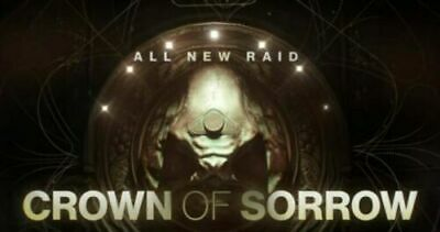 Destiny 2 Crown Of Sorrow Full Raid Completion Seaon Opulence PS4 (SALE 24 HR)