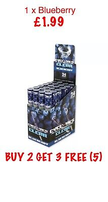 Blueberry Cyclone Pre Roll Cone Blunt Joint Rizla PreRolled BUY 2 GET 3 FREE (5)