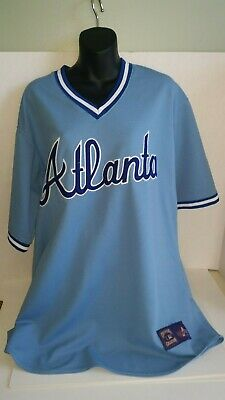 detailed look cfb6d 35d28 ATLANTA BRAVES COOPERSTOWN THROWBACK JERSEYS WOOD SIGN 11 ...