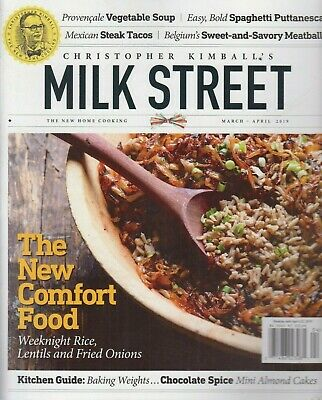 Christopher Kimball's Milk Street March/April 2019 The New Comfort Food