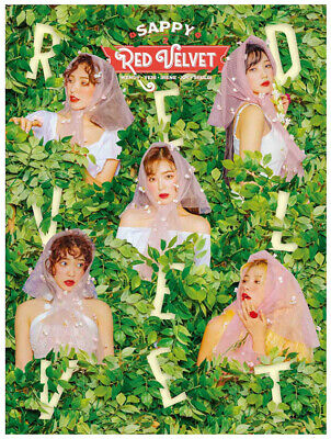 Red Velvet SAPPY First Limited Edition CD+Booklet 36P Card Box Japan  w/Tracking