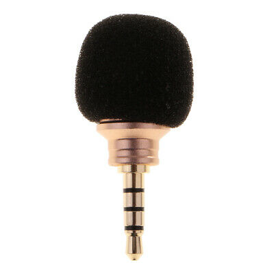 Mini Portable Digital Stereo Microphone Mic for Recorder Smart Cell Phone