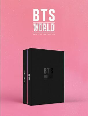 [BTS] - WORLD OST Album CD + PHOTOCARD + LENTICULAR + Coupon + Folded Poster