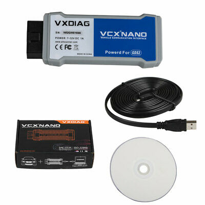VXDIAG VCX NANO Multiple GDS2 and TIS2WEB Diagnostic and Progarmming Scanner