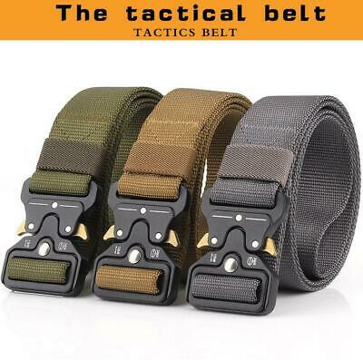 Tactical Belts Nylon Military Waist Belt Heavy Duty Combat Army Training Belt