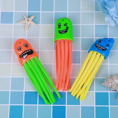 3pcs/set Throwing Toy Funny Swimming Pool Diving Game Toys for Children Dive.