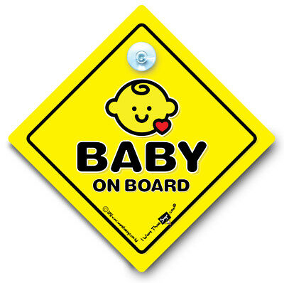 Baby On Board Sign, Baby On Board Car Sign Cute Red Heart, Grandchild On Board,