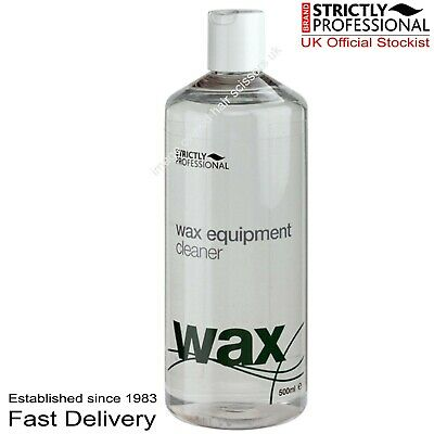 Wax Equipment Cleaner 500ml For Heaters Pots Salon Plastic Home Strict;y Profess