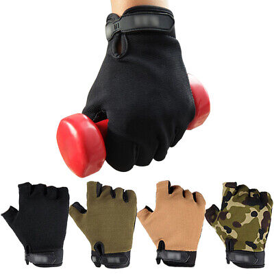 Gym Fitness Gloves Men's Weight Lifting Training Body Building Workout Exercise
